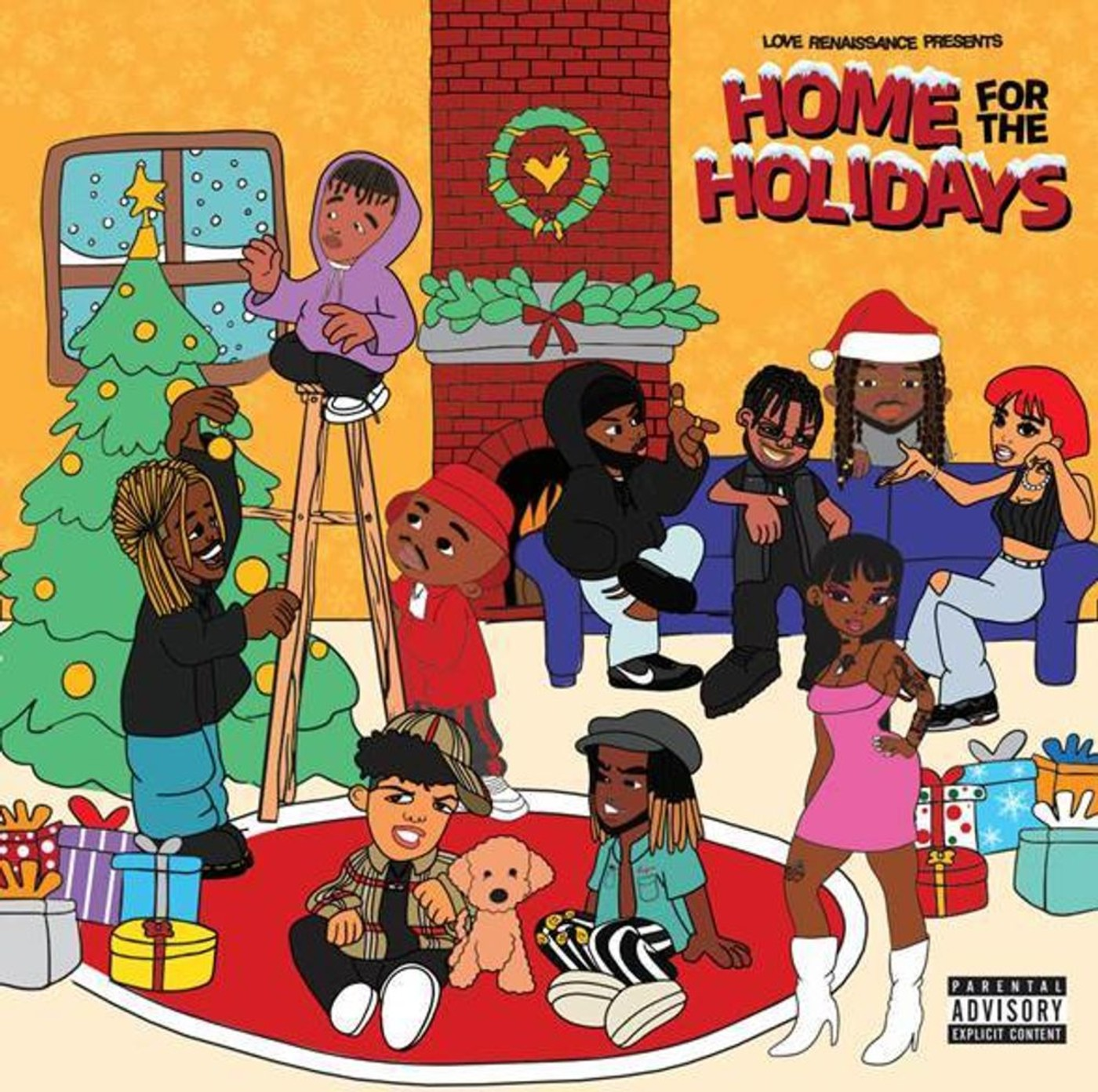 Listen to LVRN's New Christmas Album 'Home for the Holidays' | Complex