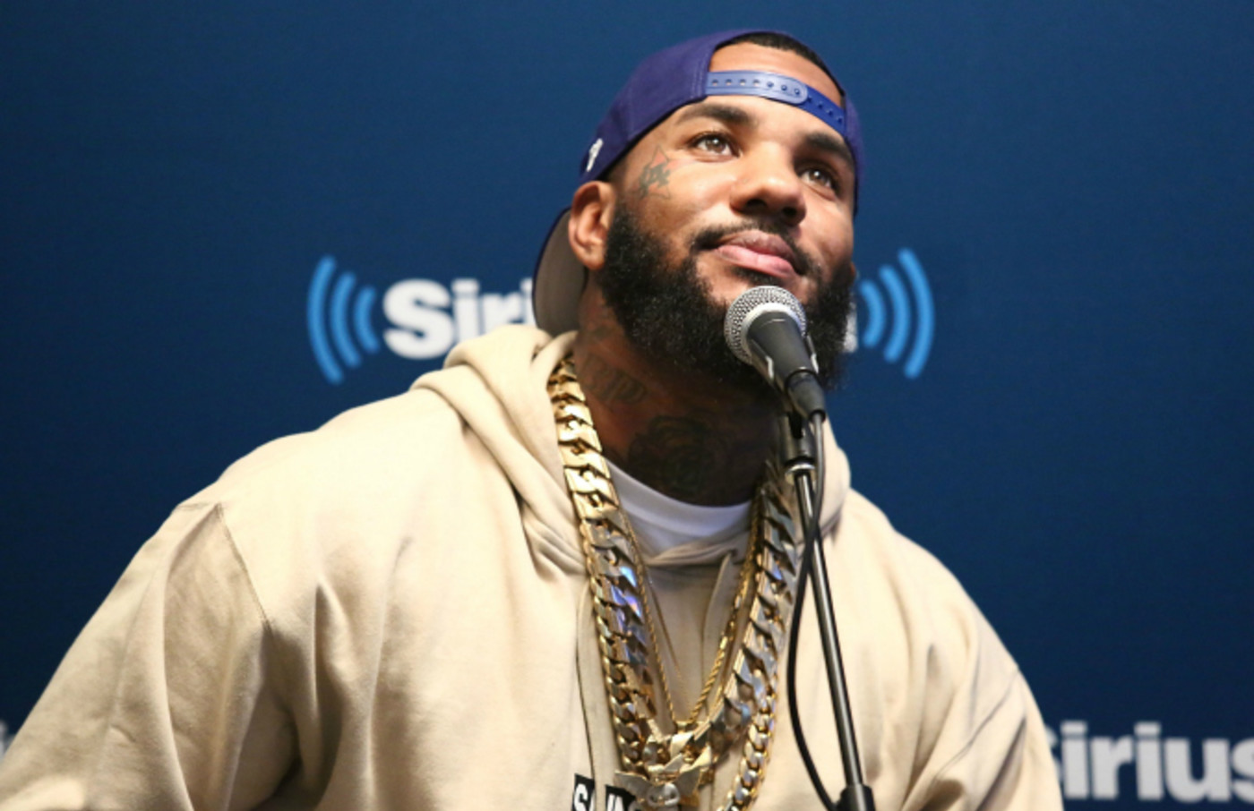 Rapper The Game visits the SiriusXM Studios