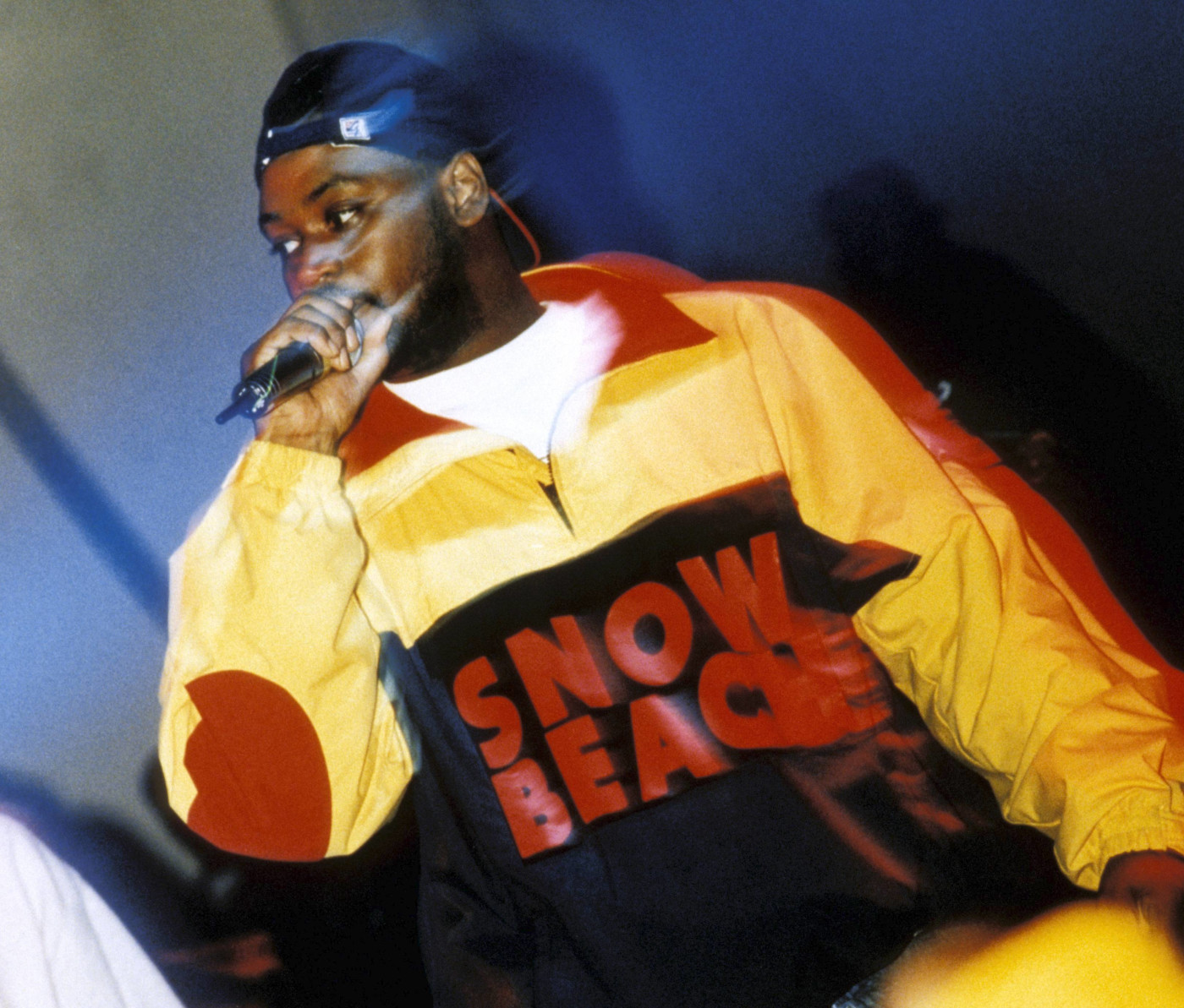 Ghostface Killah Of The Wu-Tang Clan Wearing A Snow Beach Jacket