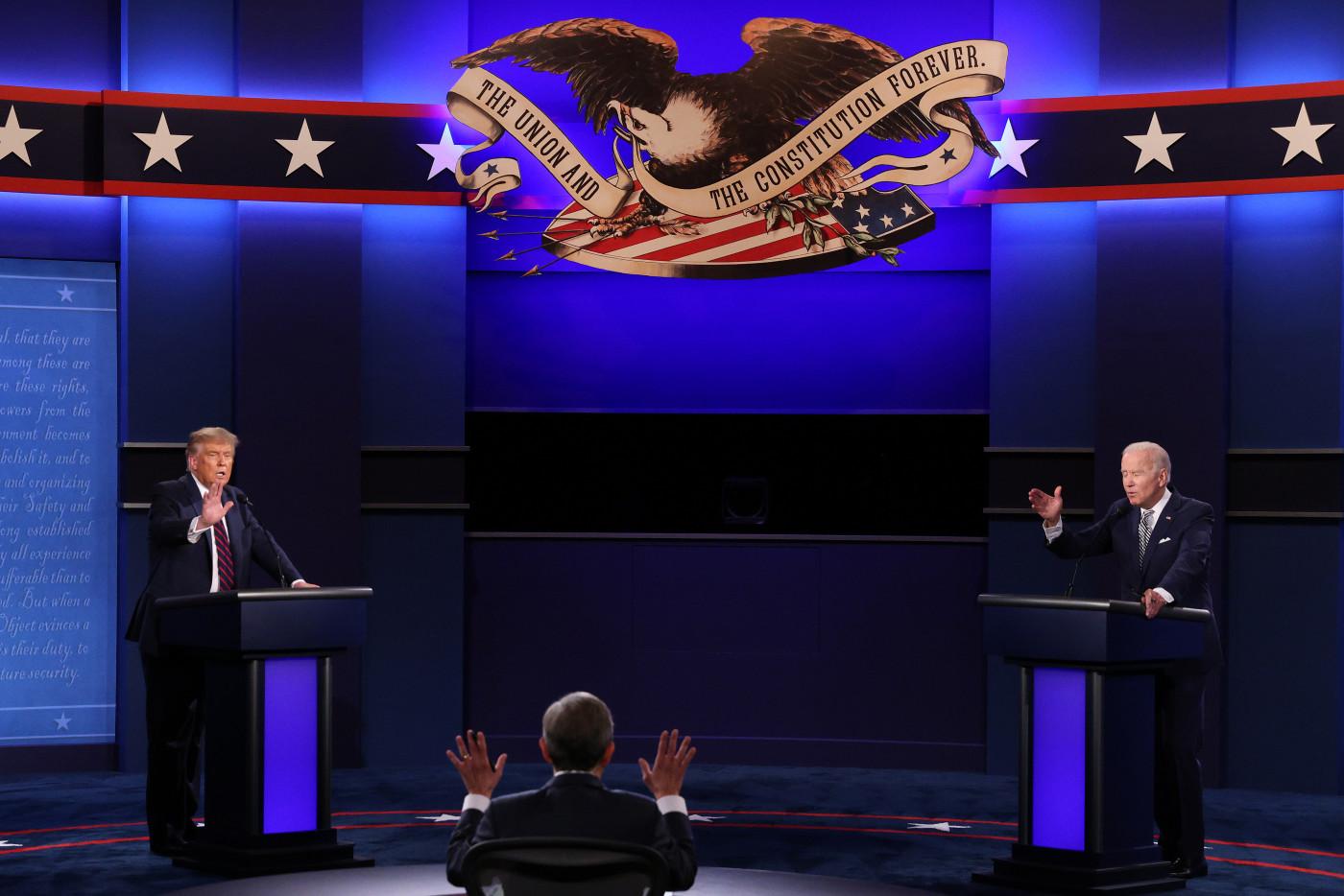Trump and Biden First Presidential Debate