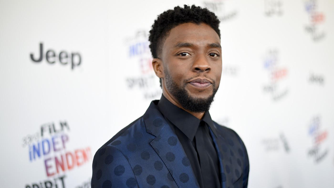 Chadwick Boseman attends the 2018 Film Independent Spirit Awards.