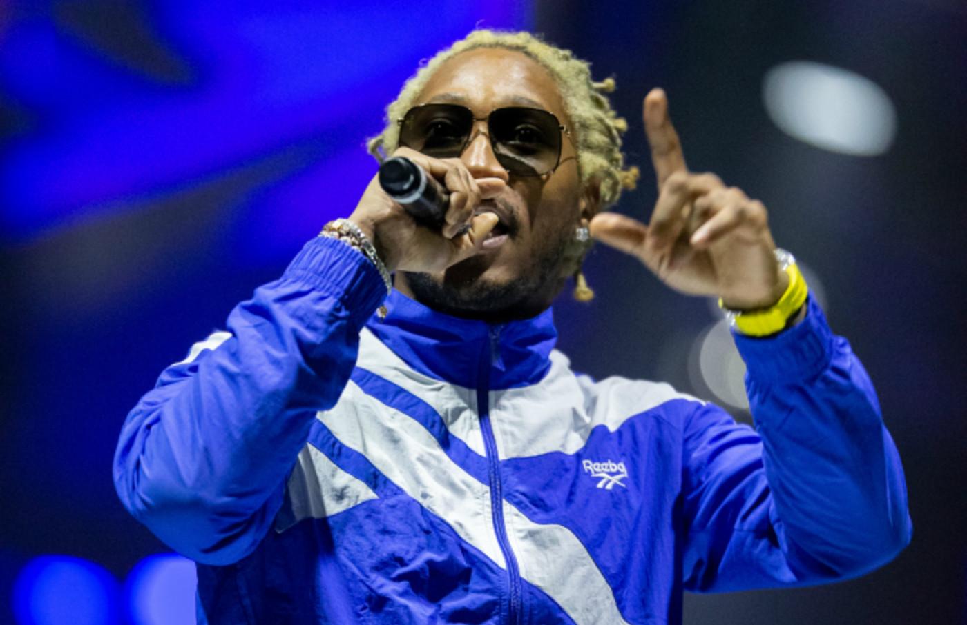 American rapper Future (aka Nayvadius DeMun Wilburn) performs