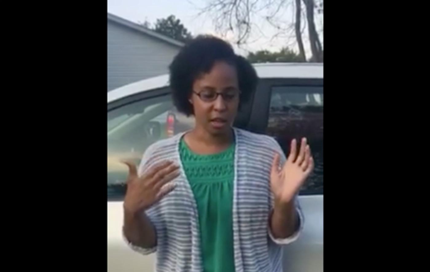 Alexis Newsome explains fried chicken incident