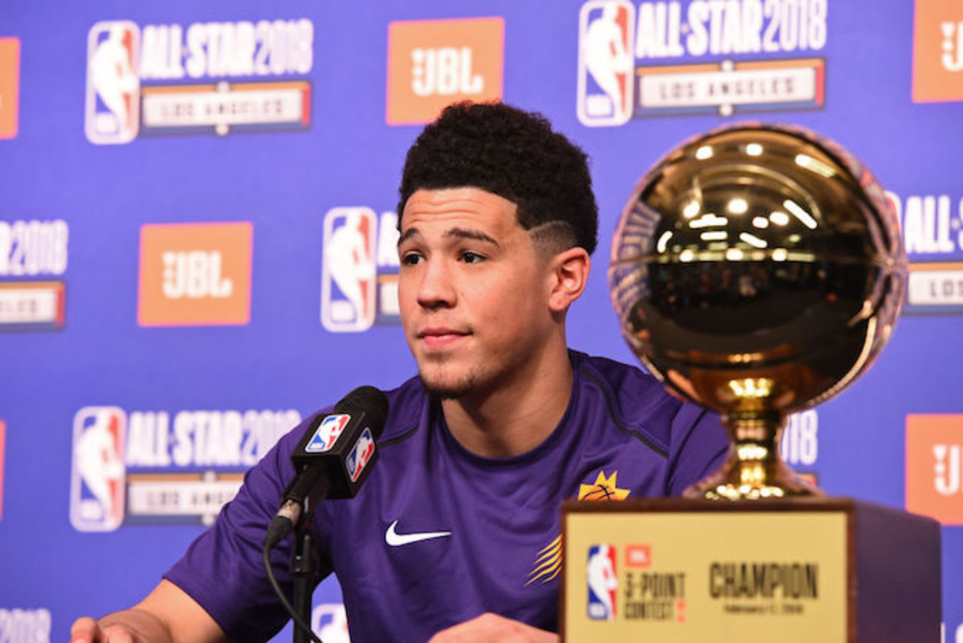 This is a picture of Devin Booker.