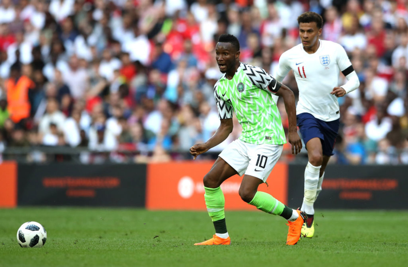 Nigeria Friendly England World Cup Kit 2018 Getty