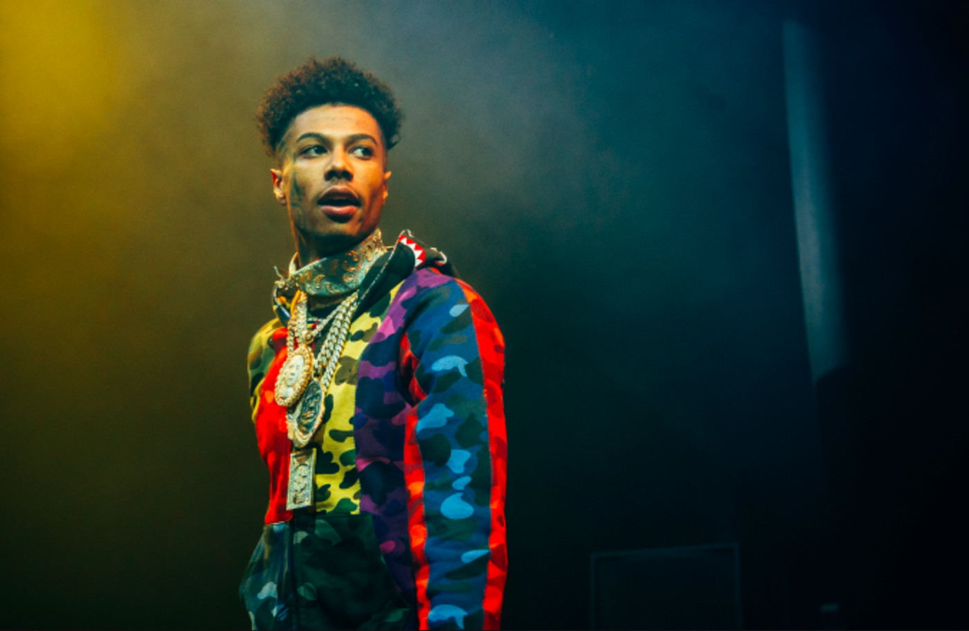 Blueface perform at O2 Academy Brixton on November 20, 2019