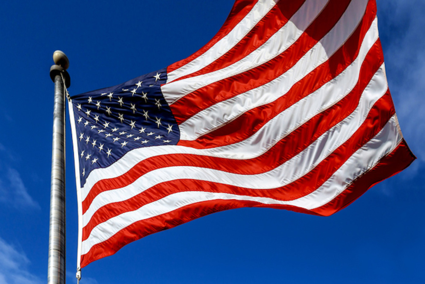 This is a picture of the American flag.