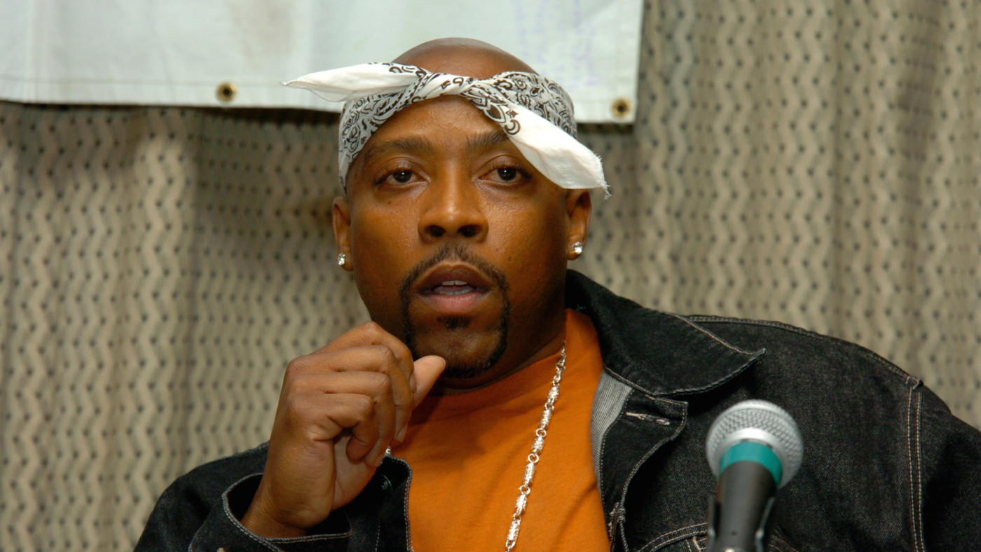 Nate Dogg during Snoop Dogg, Nate Dogg and Warren G Form Hip Hop Supergroup 213
