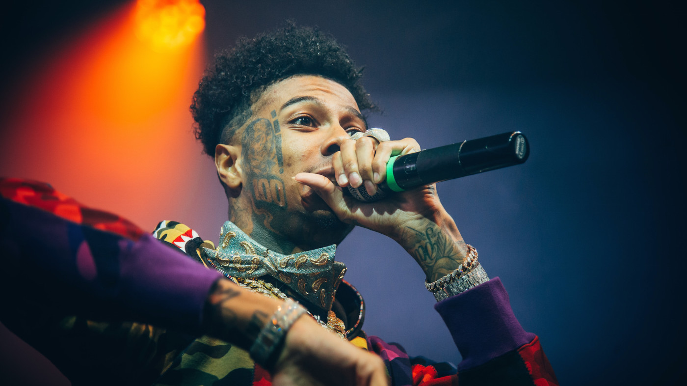 Blueface performs at O2 Academy Brixton