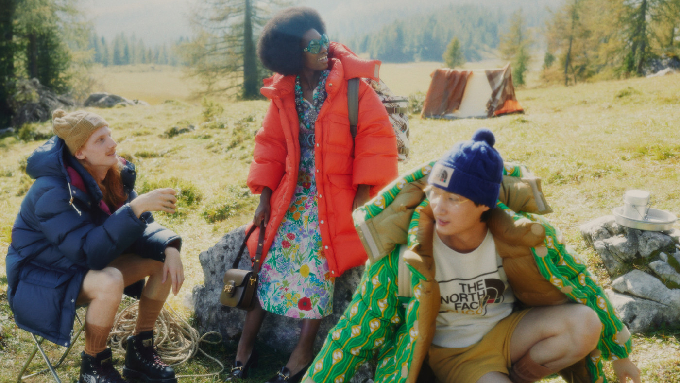 Gucci x The North Face Lookbook