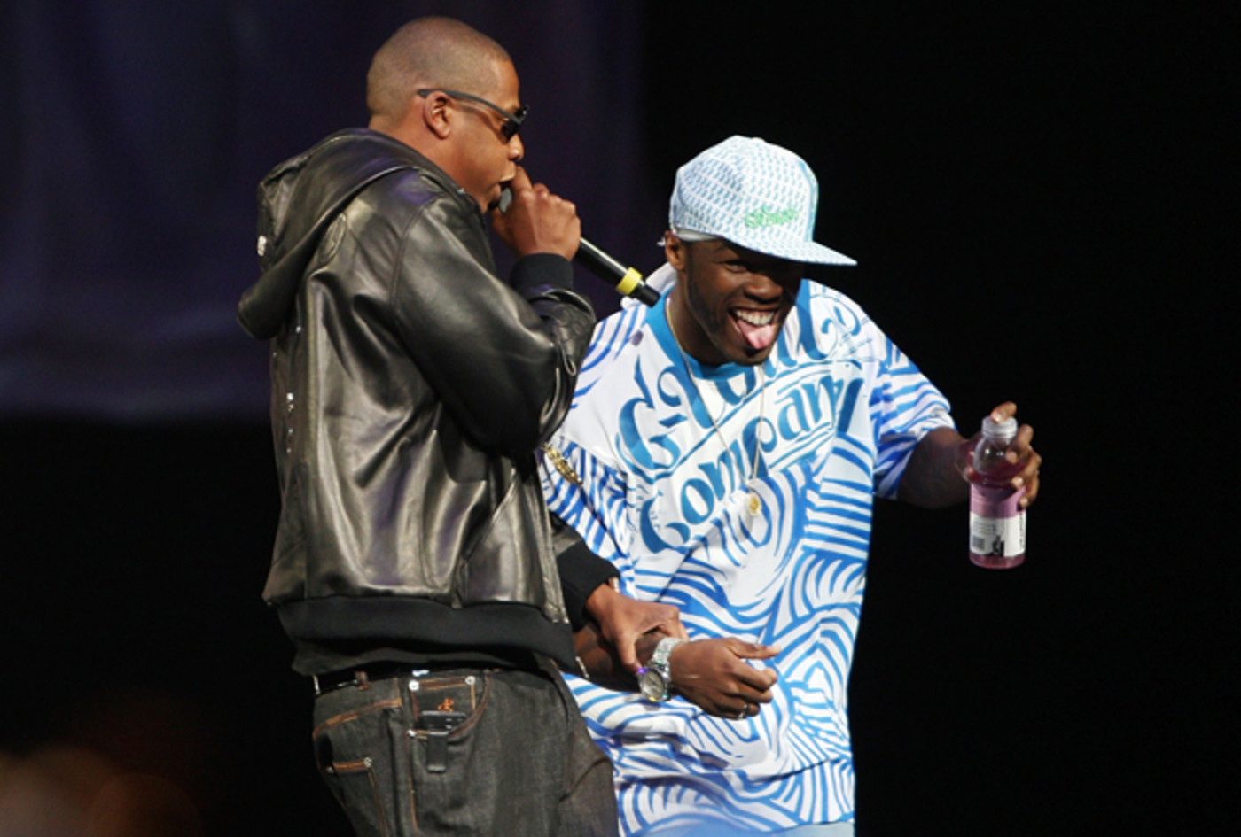 Jay Z and 50 Cent at SCREAMFEST '07
