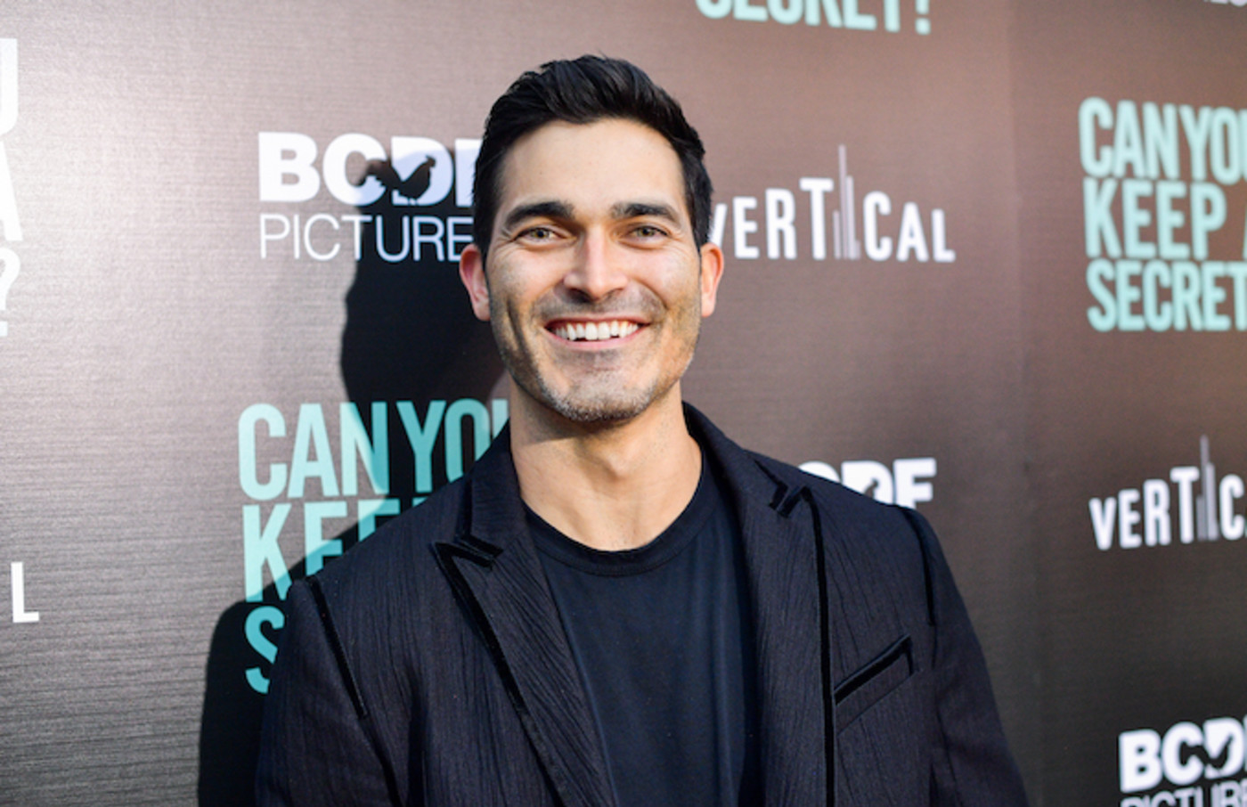 """Tyler Hoechlin attends the premiere of Vertical Entertainment's """"Can You Keep A Secret?"""""""