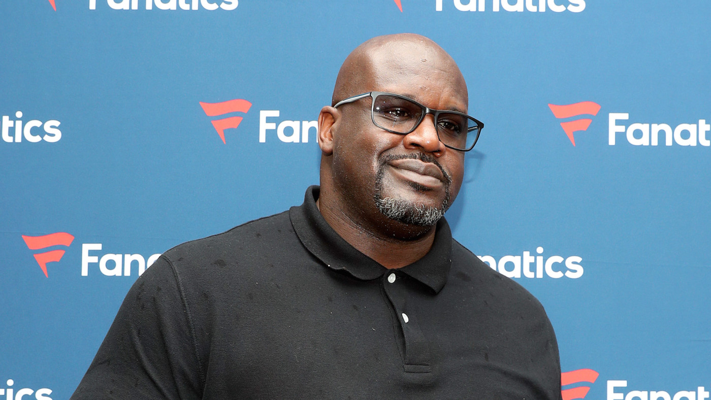 Shaquille O'Neal attends Michael Rubin's Fanatics Super Bowl Party