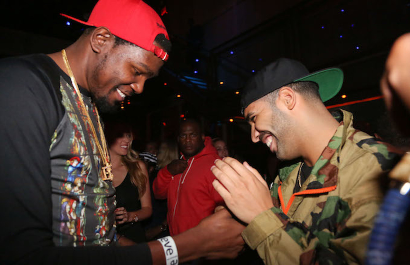 Kevin Durant and Drake