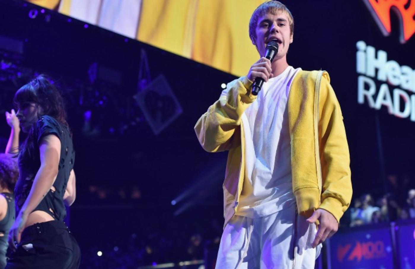 Justin Bieber performs.