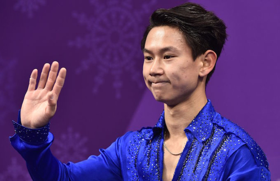 Olympic figure skater Denis Ten.
