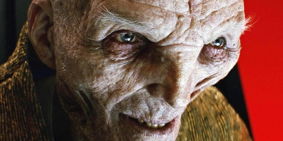 Supreme Leader Snoke in 'Star Wars: The Last Jedi'