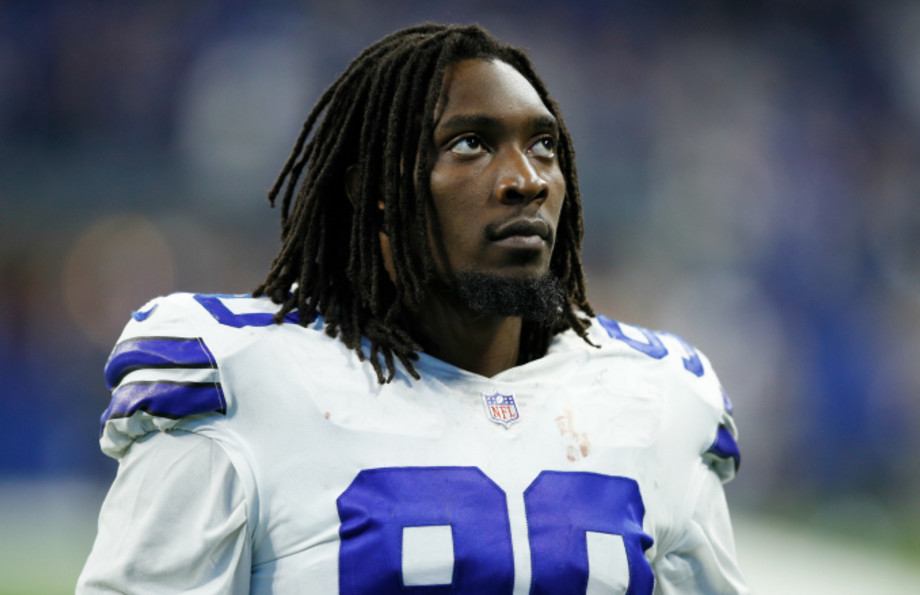 DeMarcus Lawrence #90 of the Dallas Cowboys