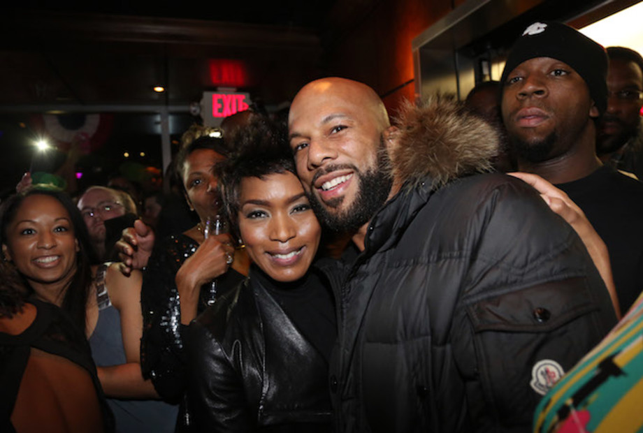 Common and Angela Bassett in DC