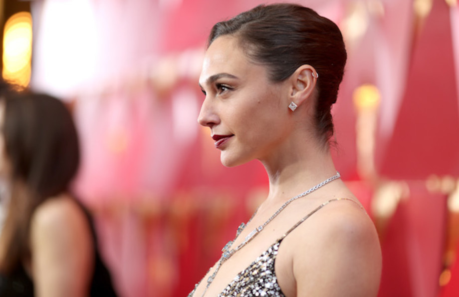 al Gadot attends the 90th Annual Academy Awards.