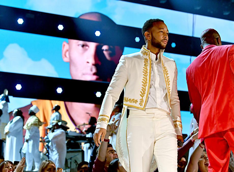 Kobe Bryant John Legend Grammys