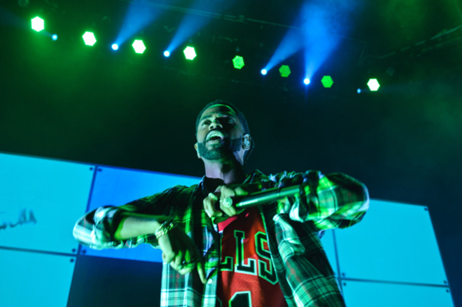 Big Sean performs at Sounds of Chicago