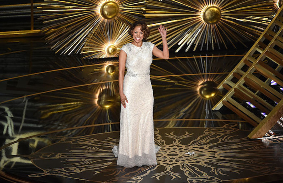 Stacey Dash at the 2016 Oscars ceremony.