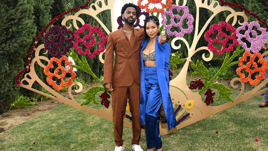 Big Sean and Jhené Aiko attend 2020 Roc Nation THE BRUNCH.
