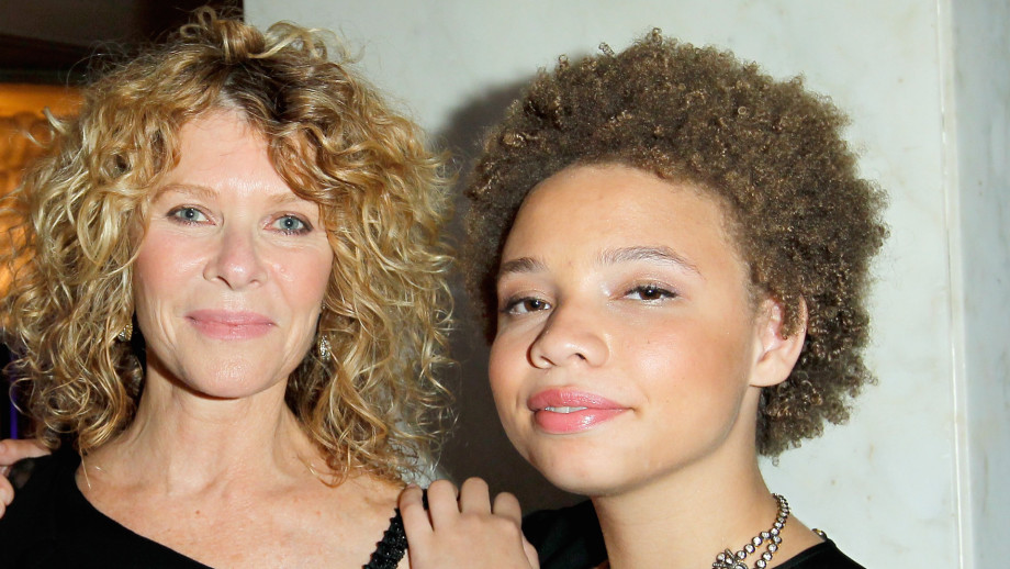 Actress Kate Capshaw and daughter Mikaela George Spielberg