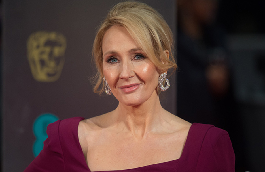 This is a photo of JK Rowling.