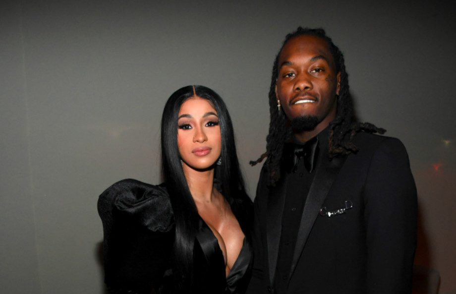 Cardi B and Offset attend Sean Combs 50th Birthday Bash