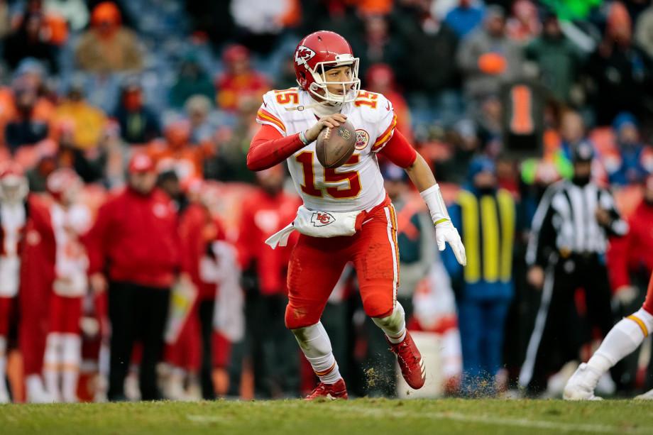 Patrick Mahomes Chiefs Broncos 2018