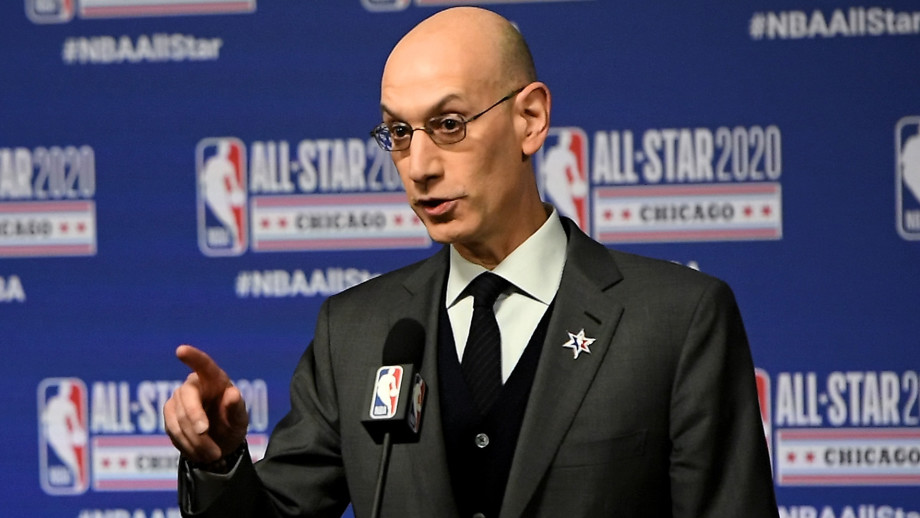 This is a photo of Adam Silver.
