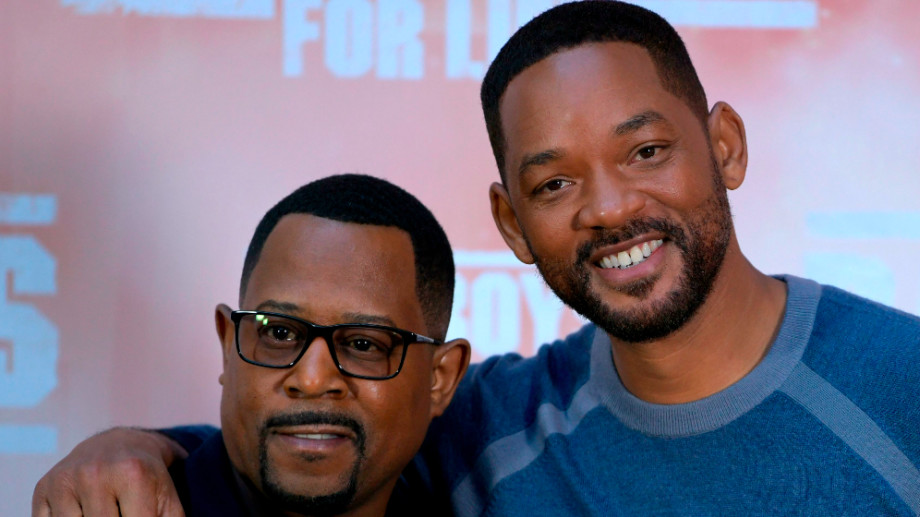 Martin Lawrence and Will Smith pose at the 'Bad Boys For Life'