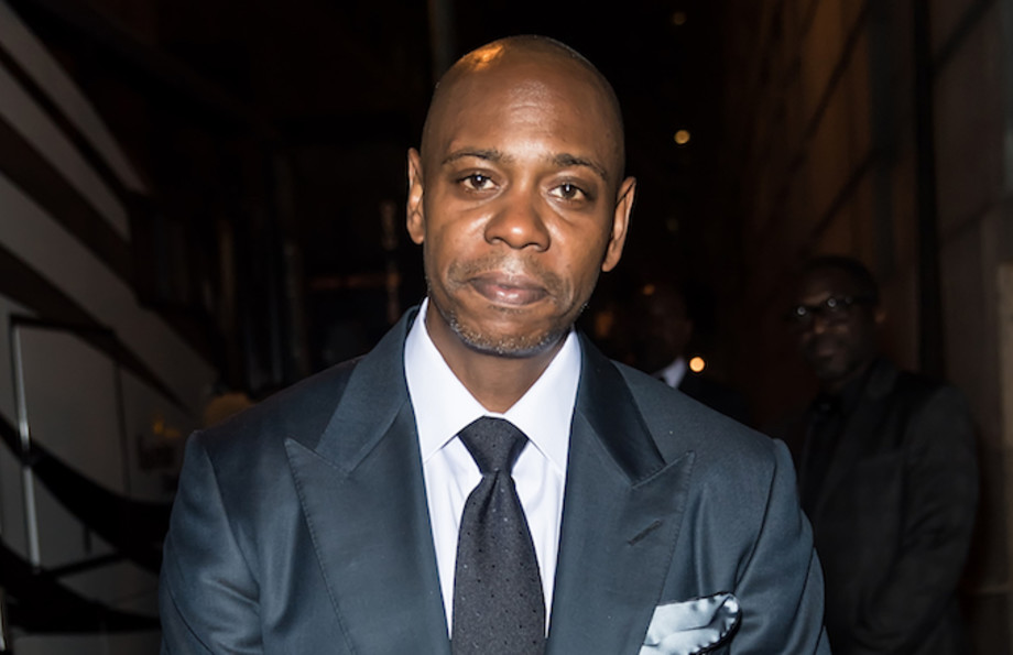 This is Dave Chappelle at Rihanna's 3rd Annual Diamond Ball.