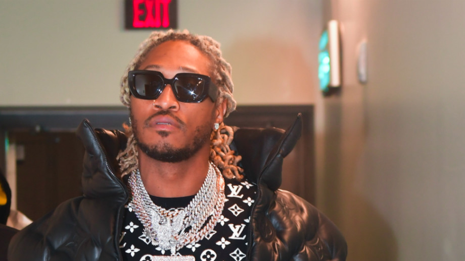 """Rapper Future backstage at """"No Place Like Home"""" Concert"""