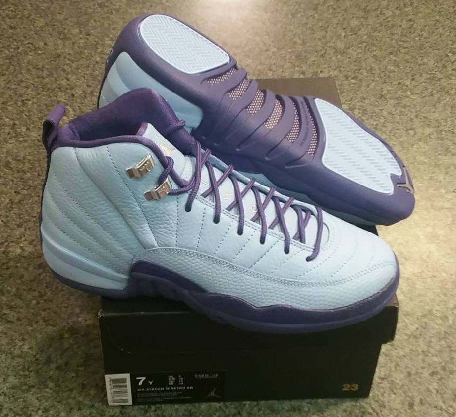 Air Jordan 12 GS Hornets Box 510815-418