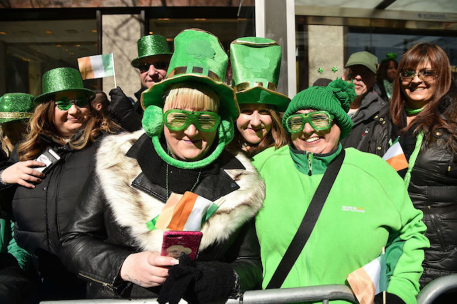 This is a picture of a St. Paddy's Day.