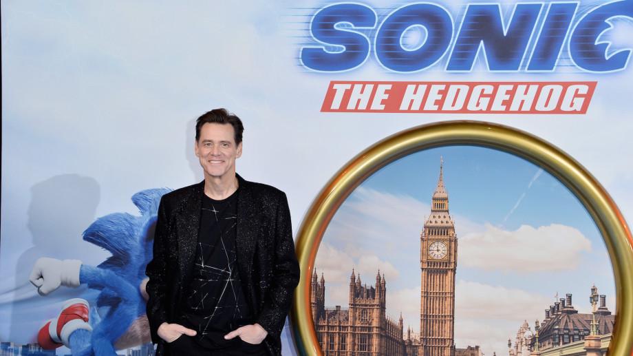 "Jim Carrey attends the ""Sonic the Hedgehog"" London Fan Screening"