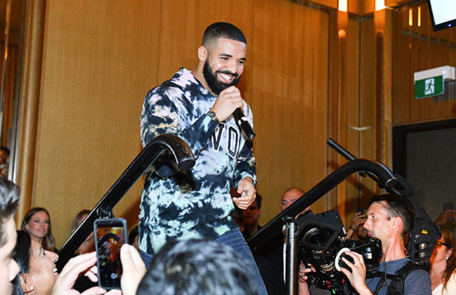 This is a photo of Drake.