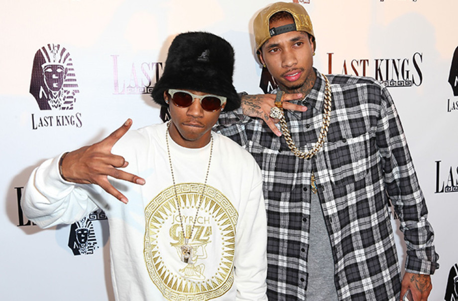This is a photo of Tyga.