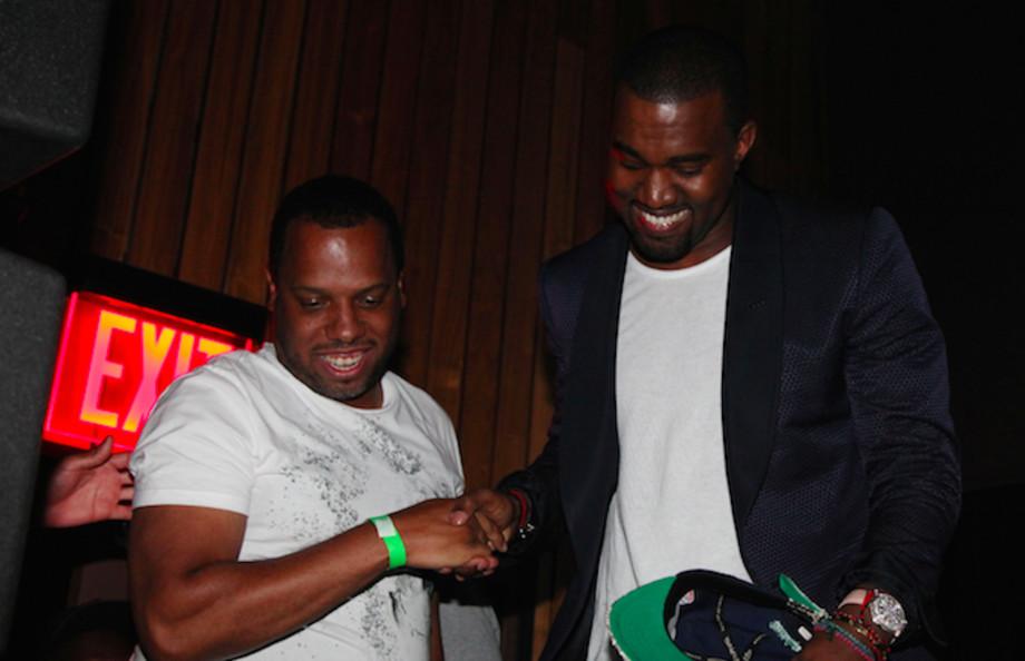 No I.D. and Kanye West