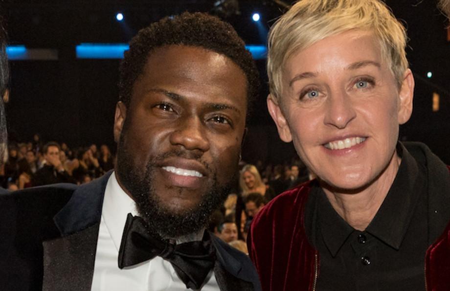 Hart and Ellen twitter