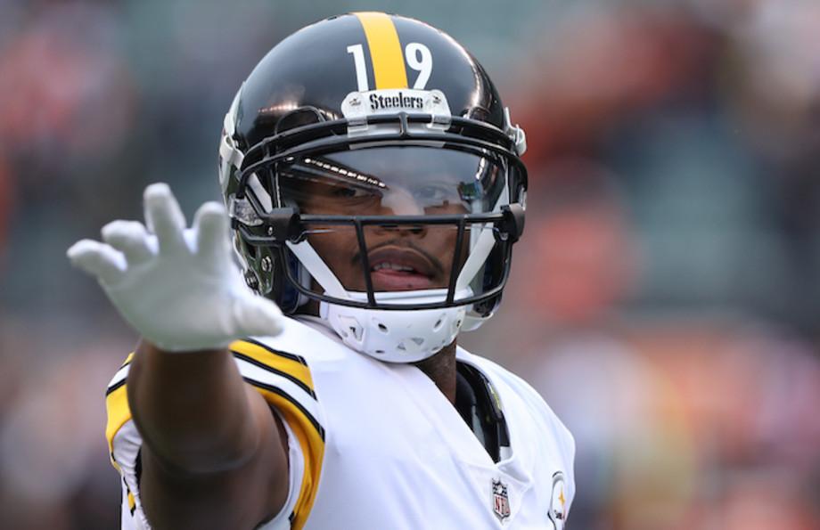 Pittsburgh Steelers wide receiver JuJu Smith-Schuster.