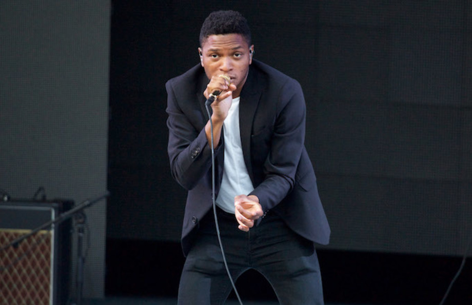 Gallant performs at The Greek Theatre.
