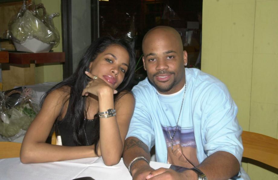 Aaliyah & Boyfriend Damon Dash (CEO of Roc-A-Fella Records)