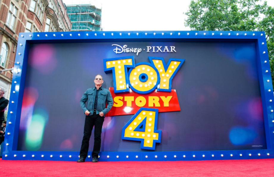 "Tom Hanks attends the ""Toy Story 4"" European Premiere"
