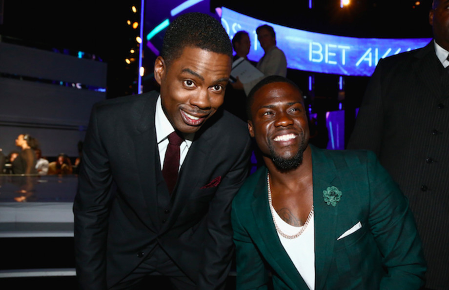 Chris Rock and Kevin Hart