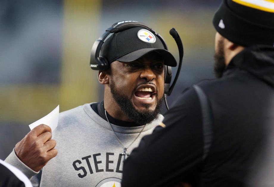 Mike Tomlin Steelers 2016 Ravens