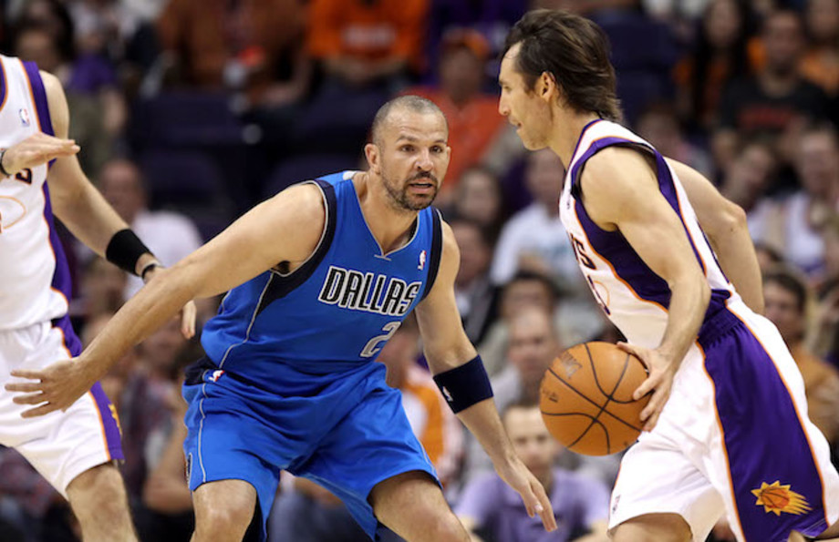 Steve Nash and Jason Kidd